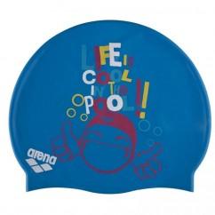 Шапочка для плавания детская ARENA PRINT JR AR-94171-20