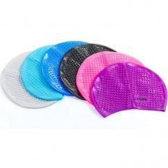 Шапочка для плавания на длинные волосы PL-5921