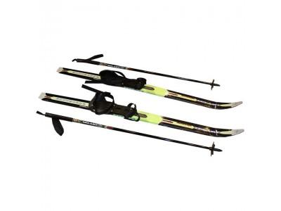 Лыжи беговые в комплекте с палками ZEL SK-1883-120А
