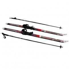 Лыжи беговые в комплекте с палками ZEL SK-1883-130А