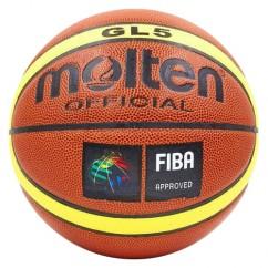 Мяч баскетбольный Molten GL5 BA-4253