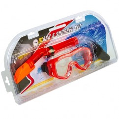 Набор для плавания (маска + трубка) ZEL-25128-PVC