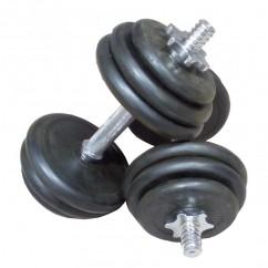 Гантели обрезиненные 10 кг TA-0031-20