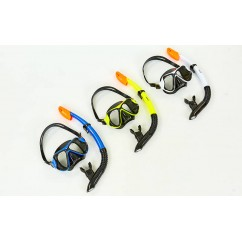 Набор для плавания маска с трубкой M153-SN124-PVC
