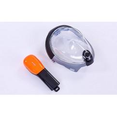 Маска для снорклинга с дыханием через нос M501L-BK