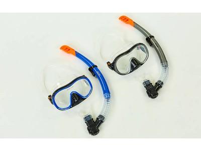 Набор для плавания маска с трубкой M171-SN132-1-SIL