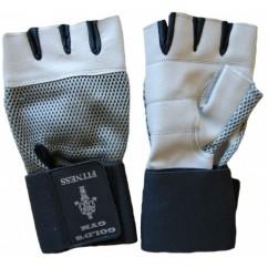Перчатки для тяжелой атлетики с напульсником Velo VL-3075