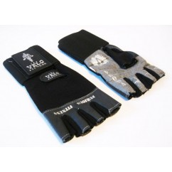 Перчатки для тяжелой атлетики с напульсником Velo VL-8114