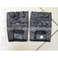 Перчатки для фитнеса BC-0004 кожа