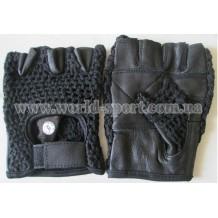 Перчатки спортивные кожаные BC-0004N