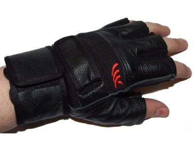Перчатки спортивные кожаные BC-122