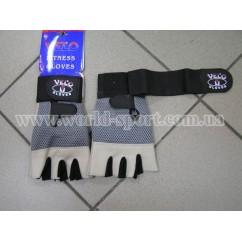 Перчатки тяжелоатлетические  VELO VL-3065
