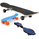 Скейтборды и Рипстики