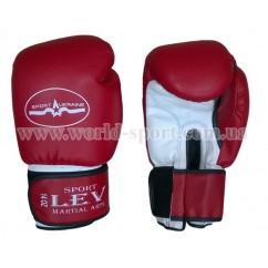 Перчатки боксерские Lev Sport Класс14 унц стрейч