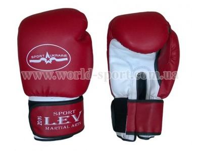 Перчатки боксерские Lev Sport Класс 14 унц стрейч