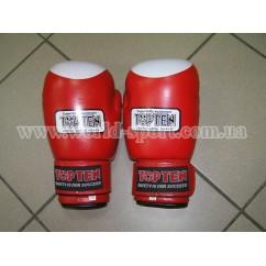 Перчатки боксерские TOP-TEN LION STAR 3002