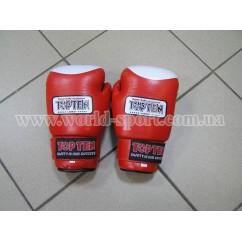 Перчатки боксерские TOP-TEN LION 3001