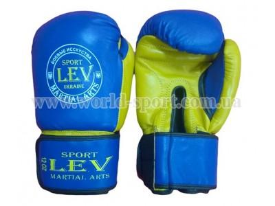 Перчатки боксерские Lev Sport Класс 12 унц кожа