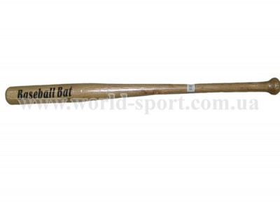 Бита бейсбольная деревянная 81 см. С-1875